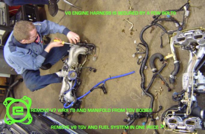Subaru Ej25 Wiring Harness : Ej engine installation guide element tuning